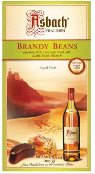 Asbach Pralinen Brandy Beans 3.5oz (100g)