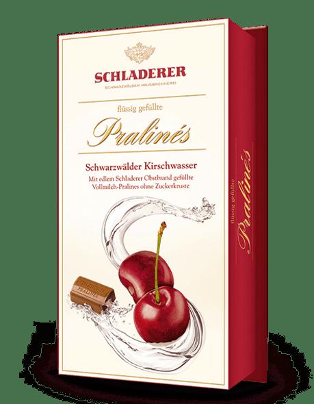 Schladerer Brandy Pralines Schwarzwalder Kirschwasser 127g