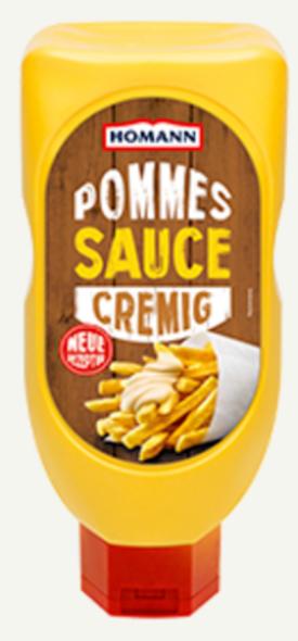 Homann Pommes Sauce