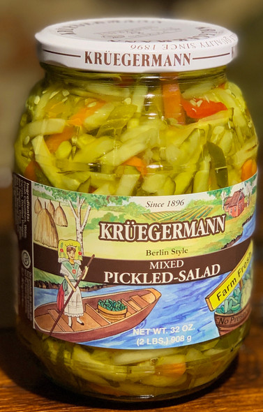Kruegermann Mixed Pickled-Salad 32oz