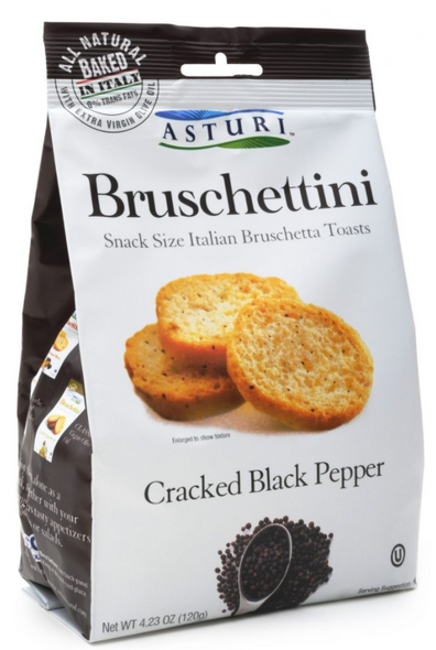 Asturi Bruschettini Black Pepper 4.23oz