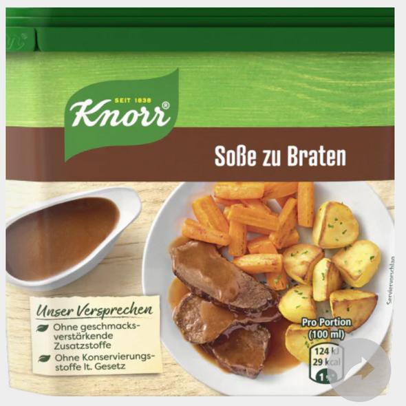 Knorr Sob Zu braten