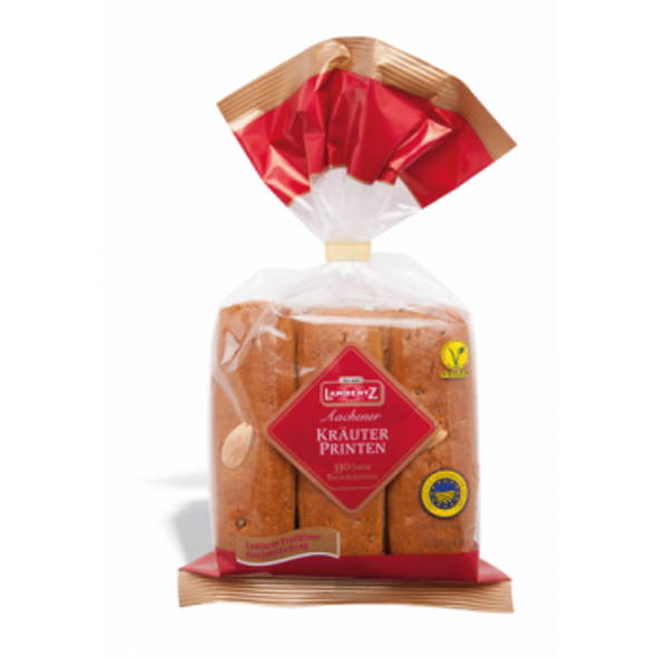 Lambertz Krauter Printen German Spiced Gingerbread Cookies 7.05oz (200g)
