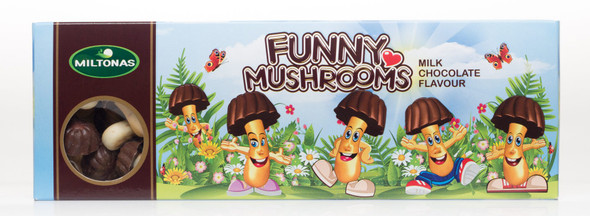 Miltonas Milk Chocolate Funny Mushrooms 170g