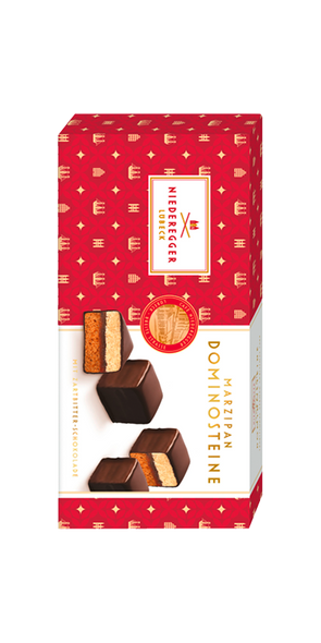 Niederegger Marzipan Dominosteine with Bittersweet Chocolate 4.4oz (125g)