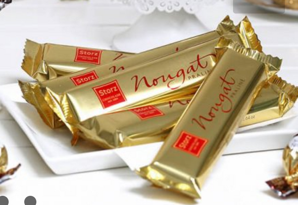 Storz Chocolade Edel Nougat 2.64oz (75g)