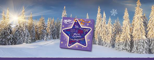 Milka Star Advent Calendar