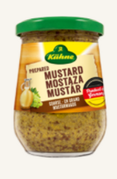 Kühne Kornig-Pikant Whole Grain Spice Mustard  250ml