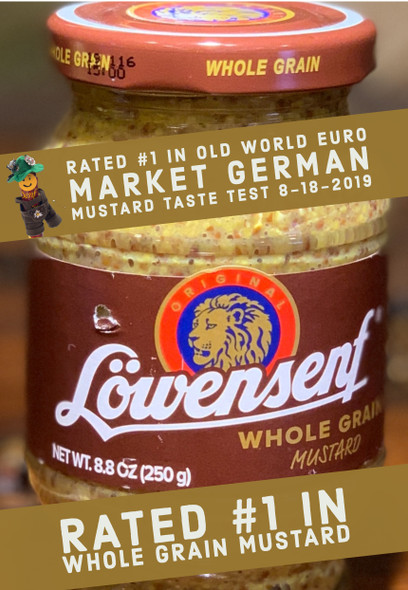 Lowensenf Whole Grain Mustard 8.8oz