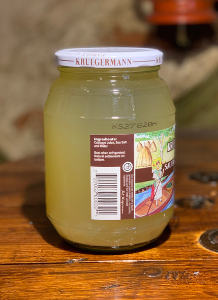 Kruegermann Sauerkraut Juice All Natural 32oz