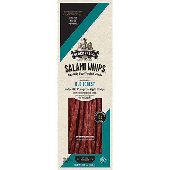 Black Kassel Salami Whips Old Forest 3.5oz