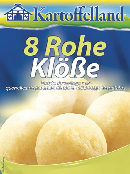 Kartoffelland 8 Rohe Klobe 8oz