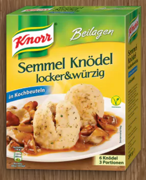 Knorr Semmel Knodel Locker And Wurzig 7oz