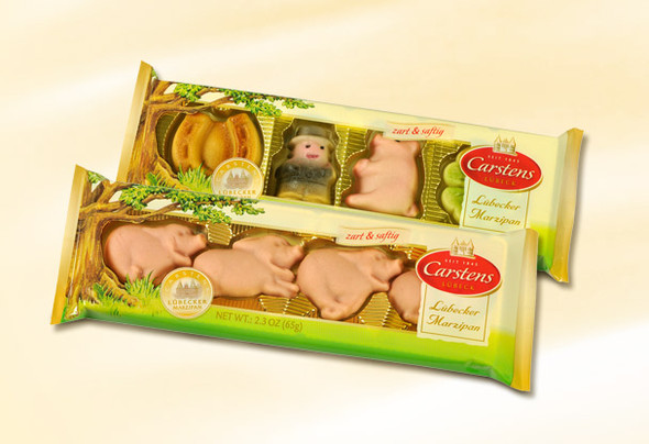 Carstens Lubecker Marzipan Figures