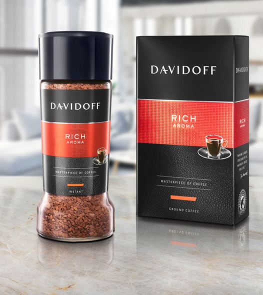Davidoff Rich Aroma Ground Coffee 250g