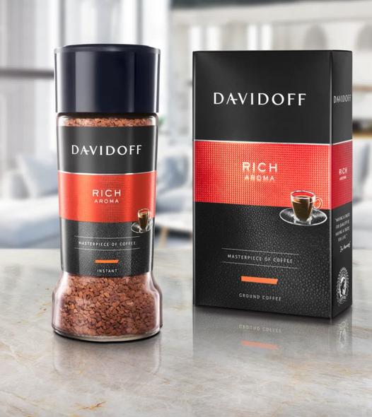 Davidoff Rich Aroma Ground Coffee 250g