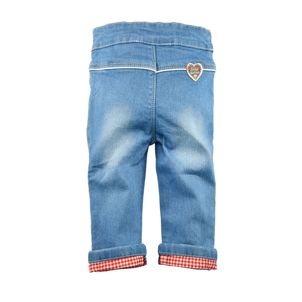Baby Girls Trachten Blue Jeans