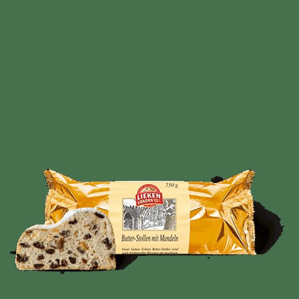Lieken Urkorn Butter stollen with almonds