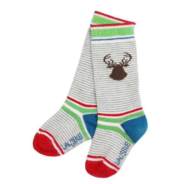 Boys Socks Baby & Toddler Grey/White