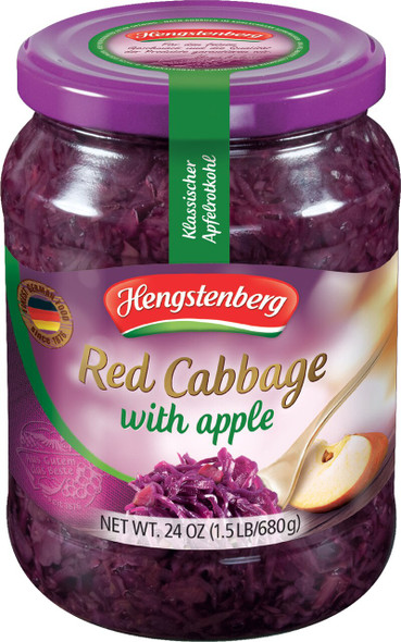 Hengstenberg Apple Red Cabbage 24oz