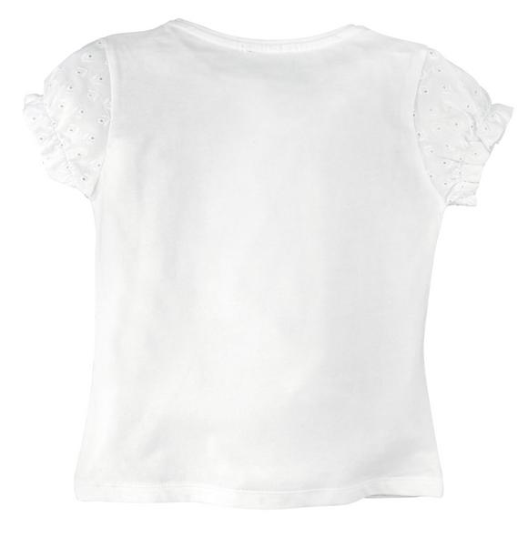 "Girls T-Shirt Halbarm ""Alpen Prinzessin"" White"