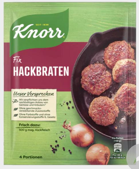 Knorr  Fix Hackbraten