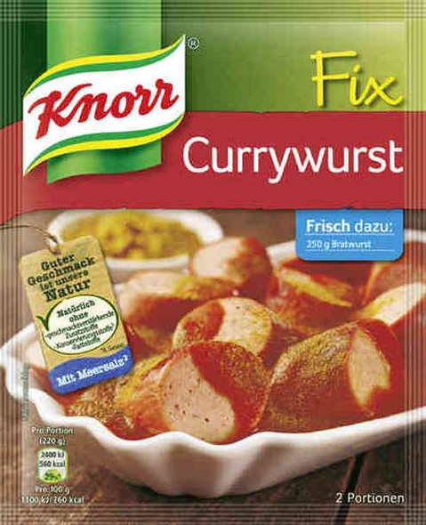 Knorr Fix Currywurst 78g