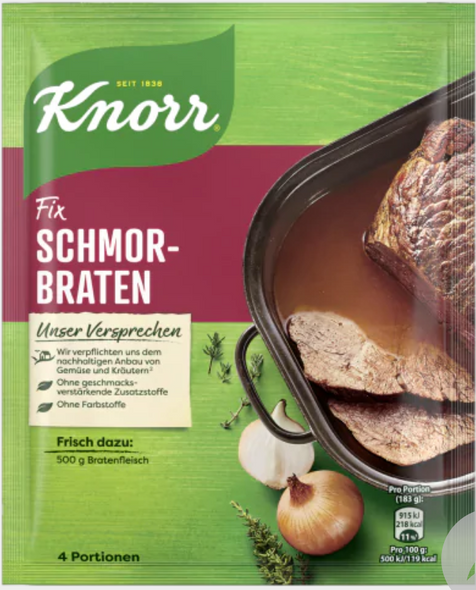 Knorr Fix Schmorbraten 78g