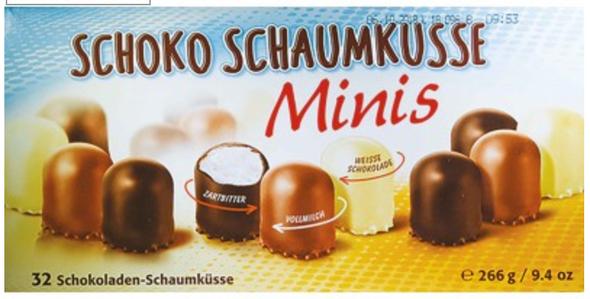 Grabower Schoko Schaumkusse Minis 9.4oz (266g)