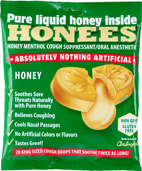 Honees Honey Menthol Cough Suppressant (20 drops)