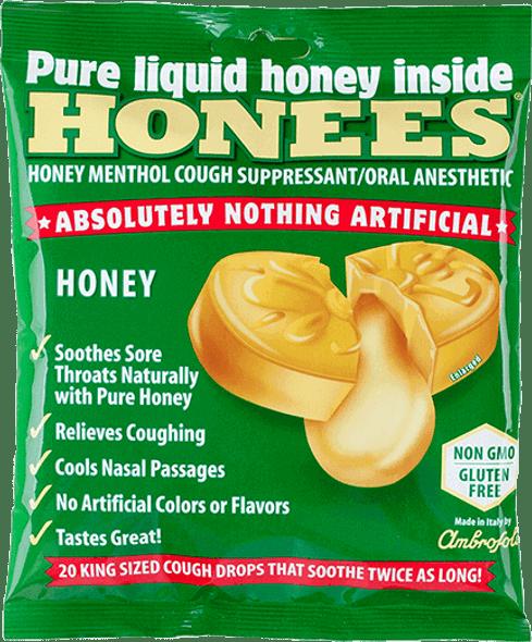Honees Honey Menthol Cough Suppressant (20 drops)