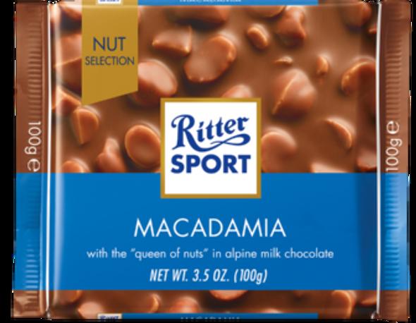 Ritter Sport Macadamia 3.5oz (100g)