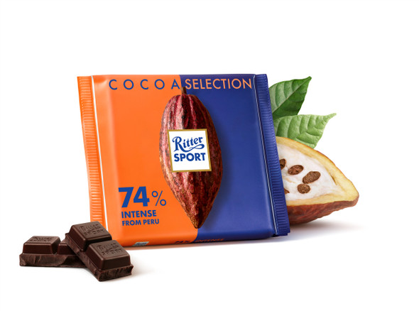 Ritter Sport Cocoa Selection 74% 3.5oz