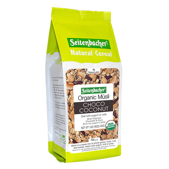 Muesli Cereal – Organic Choco Coconut #23