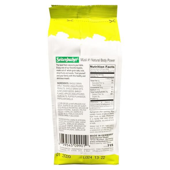 Muesli Cereal #1 Natural Body Power