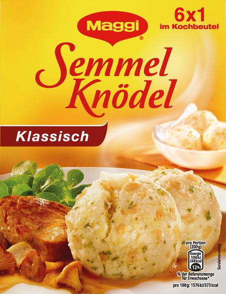 Maggi Semmel Knodel Klassisch (6 Bread Dumplings) 200g