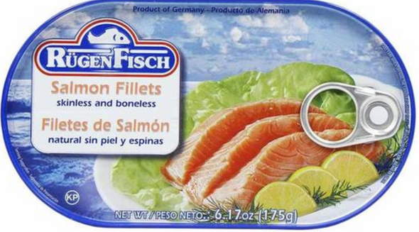 Rügen Fisch Salmon Fillets 6.17oz (175g)