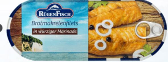 Rügen Fisch Bratmakrelenfilets 500g