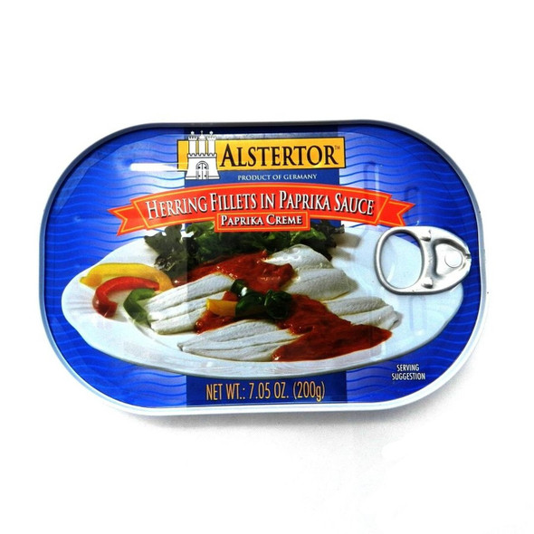Alstertor Herring Fillet in Paprika Sauce 7.05oz (200g)
