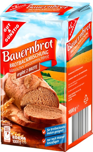 Gut & Gunstig Bauernbrot Bread Mix 35oz (1000g)