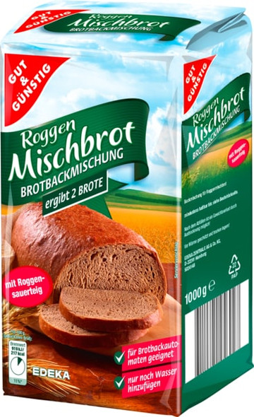 Gut & Gunstig Mischbrot Rye Bread Mix 35oz (1000g)