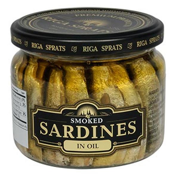 Riga Gold Sprats Smoked Sardines 250g