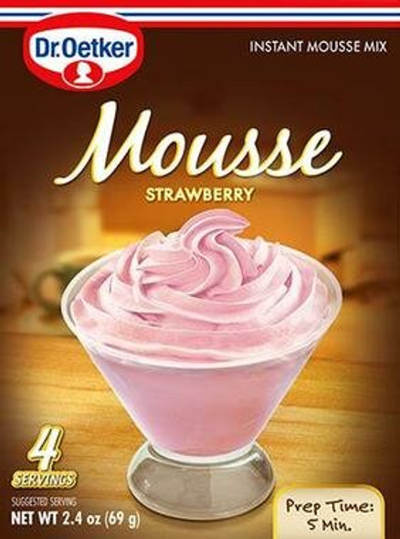 Dr. Oetker Strawberry Mouse 2.4oz (69g)