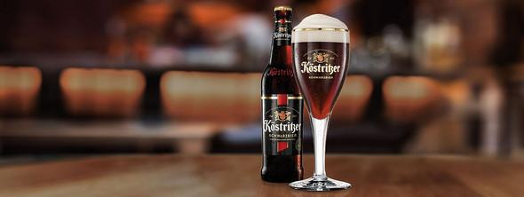 KÖSTRITZER Schwarzbier Black Lager Beer 11.2 fl.oz.