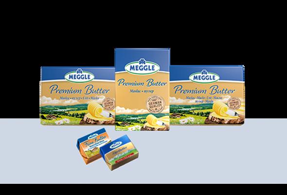 Meggle Premium Butter Unsalted 8.8oz (250g)
