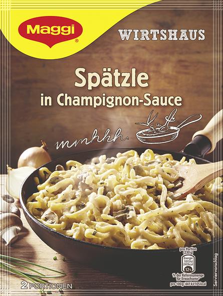 Maggi Spatzle in Champignon Sauce 4.4oz