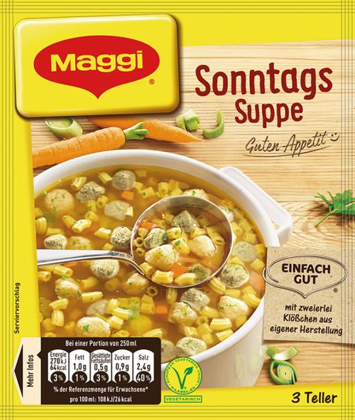 Maggi Sonntags Suppe 750ml