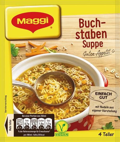 Maggi Buch-Staben Suppe 1L