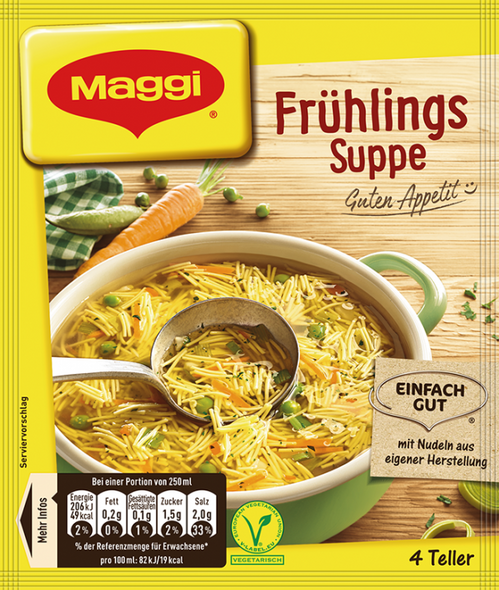 Maggi Fruhlings Suppe 1L