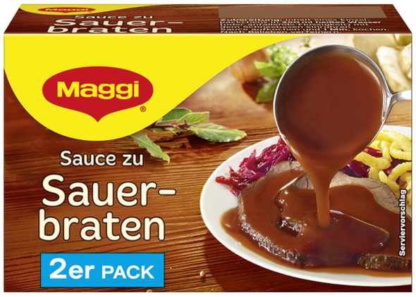 Maggi Sauce with Sauerbraten (2-pack) 500ml